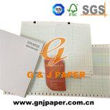 Papier d'imprimerie thermique de bonne qualité pour Ctg/ECG/EEG