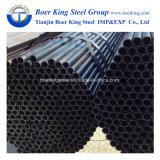 빈 단면도 검정 ERW 관에 의하여 용접되는 탄소 검정 둥글거나 정연한 타원형 직사각형 강철 관 및 관