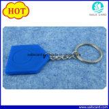 Indicateur de clé d'IDENTIFICATION RF matérielle de silicones pour le système d'entrée d'hôtel de porte