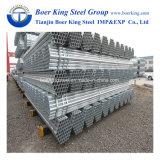 Tianjin REG Galvanizado en caliente del tubo de acero redondo/Gi Pre tubo Tubo de acero galvanizado de tubo galvanizado