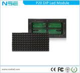 Módulo ao ar livre do diodo emissor de luz do MERGULHO da cor de P8 P16 P20 P25 único