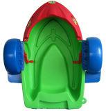 Barco de paleta del agua para el juego inflable de la piscina para los cabritos