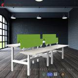 Bureau modulaire d'Orizeal, bureau en forme de L, meubles de bureau (OZ-ODKS057D-3)