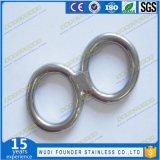 リングのDリングのあたりで溶接されるステンレス鋼