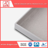 Fácil ensamblaje ligero PVDF revestimiento metálico de paneles para muros cortina// el revestimiento de fachada