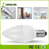 C7 Non Dimmable 1W LED Light Bulb Daylight 6000K with E12 base