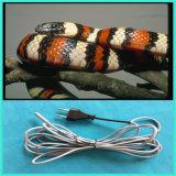 뱀 대 거북 파충류 난방 케이블