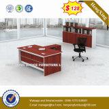Guang Dong couleur chêne Bureau de poste de travail permanent de la table (HX-CRV011)