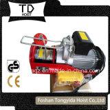 mini élévateur électrique électrique de câble métallique de l'élévateur 100kg de l'élévateur 220V électrique