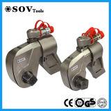 O parafuso da chave de torque do parafuso utiliza ferramentas a chave de torque hidráulica da movimentação quadrada
