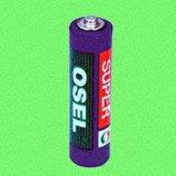 Марганцевая батарея (полихлорвиниловая оболочка) - R6P/AA/UM-3