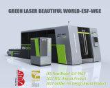 Automatischer Ausschnitt und Gravierfräsmaschine 1000W, Laser-Scherblock der Faser-1500W rostfrei
