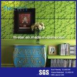 Arrière-plan 3D Intérieur fibre polyester décoratifs Panneau mural acoustique / panneau de plafond