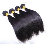 Extensão preta natural do cabelo humano do cabelo de Dlme Remy