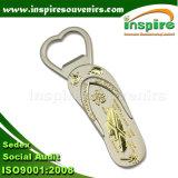 Magnete del frigorifero del metallo del ricordo con l'apri della bottiglia da birra