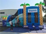 2017熱い販売! 膨脹可能な島/Moanaは賃貸料のための/Inflatableの城をもてあそぶ