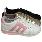 Высокое качество женщин ЭБУ системы впрыска повседневная обувь PU обувь индивидуальные (YJ1216-10)