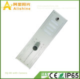LED 가로등을%s 가진 옥외 통합 태양 에너지 WiFi 무선 안전 IP 사진기