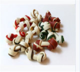 """Стоматологическая закуски типа 2,5"""" дважды цветов стоматологическая Knotted Bone собака продовольственной"""