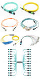 Multicores OS1/Om3/Om4 광섬유 MTP/MPO 접속 코드