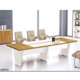 Bureau rectangulaire de conférence de meubles de bureau de table de réunion