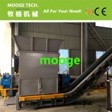 Desechos PE LDPE máquina de trituración de película / máquina de destrucción de película de plástico
