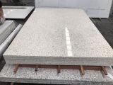 Pedra branca artificial de quartzo da cor da fábrica por atacado da alta qualidade