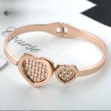 Ювелирные изделия из нержавеющей стали с высокими требованиями для скрытых полостей сердца Bangle Diamond браслет