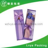 Коробка ювелирных изделий подарка ящика Eco-Friendly горячего надувательства изготовленный на заказ сползая бумажная