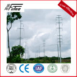 85のFTによって電流を通される送電線タワー