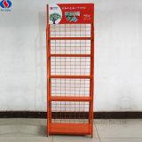 Crémaillère d'étalage de fer de livre de magasin de mémoire de papetier