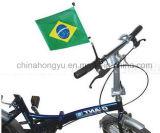 Fußball-Ventilator-Fußballfan-Fahrrad-Markierungsfahne