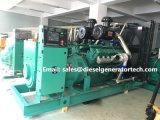 generatore di potere diesel di Ricardo del generatore diesel 300kw/375kVA con il silenziatore