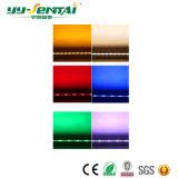 12W屋外RGBおよびColr白いLED Wallwasherライト