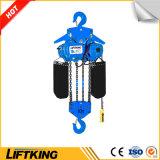 Liftking 10tの二種速度のホックの中断が付いている電気チェーン起重機