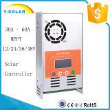 30A MPPT Solarladung-Regler für Sonnensystem Gleichstrom-12V/24V/36V/48V
