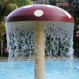 Crianças de Fenlin que jogam o cogumelo dos TERMAS do equipamento do parque da água do divertimento