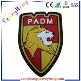 OEMの工場カスタム3Dロゴの名前ゴム製PVCパッチ