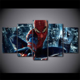 5 Pieces Spiderman Painting Canvas barrier kind Picture Home Decor Living Room Canvas print decaying Painting Kid Room barrier Decoration