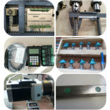 2500*1300mm área de grabado de la máquina rebajadora CNC para madera aluminio