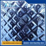 Aço inoxidável estéreo Gofragem Board Anti - Mosaico da folha de aço 553