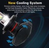 S1 60W 8000lm H4 H7 H11 Kit de Conversão de faróis LED