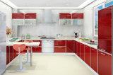 De in het groot Witte Kast van de Keuken van Keukenkasten Populaire Houten