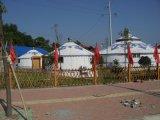 Barraca Mongolian impermeável de Yurt do inverno