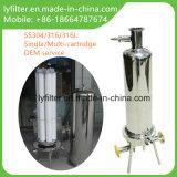 Ro-Systems-Edelstahl-Kassetten-Filtergehäuse für Wasserbehandlung