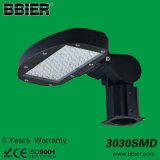 세륨 RoHS 보장 5 년을%s 가진 옥외 점화를 위한 열거된 LED 플러드 빛