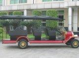Campo de Golfe confortável veículo retro alimentado por bateria para passeios turísticos