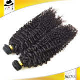Cheveux humains d'onde profonde brésilienne humides et ondulés