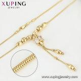 2017人の新しい方法デザイン贅沢な女性のネックレスの宝石類、めっきされる14K金が付いている14グラムのネックレス