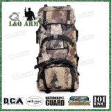 Los hombres de mochila 70L militar de gran capacidad de la bolsa de camuflaje